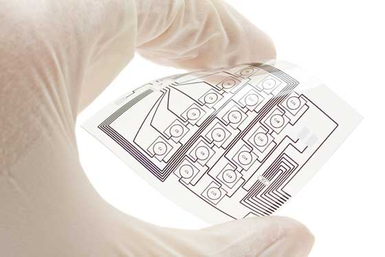 Hybrid and Flexible Electronics